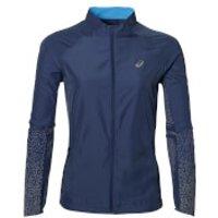 Asics Womens Lite Show Run Jacket - Indigo Blue - S