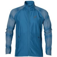 Asics Mens Lite Show Run Jacket - Thunder Blue - XL