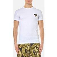 Versace Jeans Mens Small Logo Basic T-Shirt - Bianco - XL