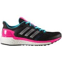 adidas Womens Supernova ST Running Shoes - Core Black - US 6/UK 4.5