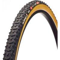 Challenge Grifo Seta Silk Tubular Cyclocross Tyre - Black/Tan - 700c x 33mm