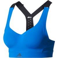 adidas Womens Climachill High Support Sports Bra - Blue - S/A-B