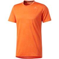 adidas Mens Supernova Running T-Shirt - Energy Orange - M