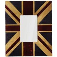 Union Jack Canvas Photo Frame 4 x 6