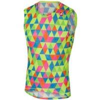 Castelli Pro Mesh Sleeveless Base Layer - Multicolour Fluo - XL