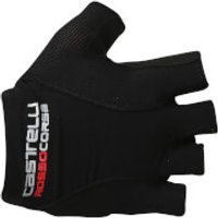 Castelli Rosso Corsa Pave Gloves - Black/White - M