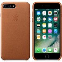 Apple iPhone 7 Plus Leather Case - Saddle Brown