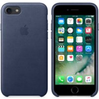 Apple iPhone 7 Leather Case - Midnight Blue