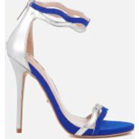 Carvela Womens Gate Heeled Sandals - Blue - UK 7
