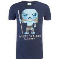 Game of Thrones Mens White Walker Funko T-Shirt - Navy - S