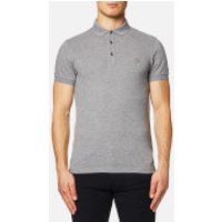 BOSS Orange Mens Pavlik Short Sleeve Polo Shirt - Grey - XL