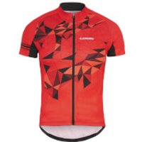 Look Pulse Jersey - Black/Red - XXL - Black/Red