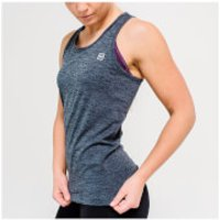 IdealFit Seamless Vest Tank Top - Charcoal - S - Charcoal