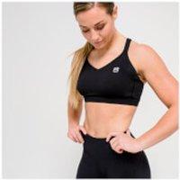 IdealFit Core Sports Bra - Black - XL - Black