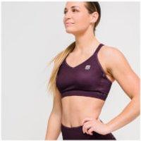 IdealFit Core Sports Bra - Dark Berry - S - Purple