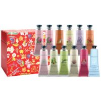 Crabtree & Evelyn Hand Therapy Gift Set - Red - 12 x 25g (Worth 72)