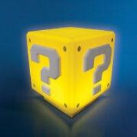 Nintendo Super Mario Mini Question Block Light - Yellow