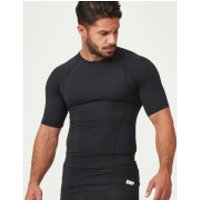 Charge Compression Short-Sleeve Top - M - Black