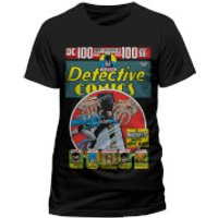 DC Comics Mens Batman Detective Comics T-Shirt - Black - S