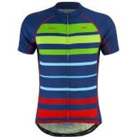 PBK Primal Bright Stripes Jerseys - Blue/Green/Red - XS
