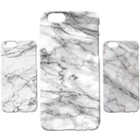 Marble Texture Phone Case for iPhone and Android - White Marble 5 - Samsung Galaxy S6 Edge