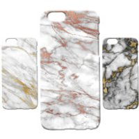Marble Texture Phone Case for iPhone and Android - Gold Marble 5 - Samsung Galaxy S6 Edge