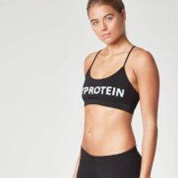 Myprotein Womens Logo Sports Bra - Purple, XS