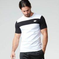 Myprotein Mens Core Stripe T-Shirt - White, XXL