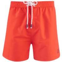Smith & Jones Mens Antinode Swim Shorts - Flame Scarlet - XL