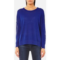 Samsoe & Samsoe Womens Kassy O Neck Jumper - Surf The Web - M