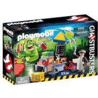 Playmobil Ghostbusters Slimer with Hot Dog Stand (9222)