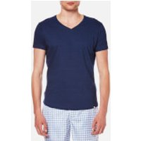 Orlebar Brown Men's OB V-Neck T-Shirt - Denim Pigment - L - Blue