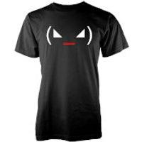 Mens Angry Jemoticon T-Shirt - Black - XXL