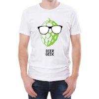Beer Geek Mens T-Shirt - L