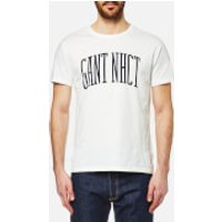 GANT Mens Collegiate Short Sleeve T-Shirt - Eggshell - L