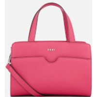 DKNY Womens Bryant Park Mini Satchel Bag - Cerise