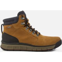 Clarks Mens Edlund Lo GTX Nubuck Lace Up Boots - Dark Tan - UK 11 - Tan
