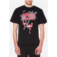 Billionaire Boys Club Mens Paradise Script Logo T-Shirt - Black - XXL