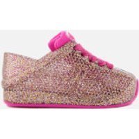 Mini Melissa Toddlers Love System 18 Trainers - Pink Glitter - UK 8
