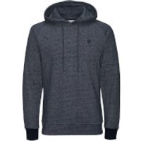 Jack & Jones Mens Core Win Textured Hoody - Sky Captain - XXL - Blue