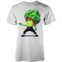 Brocco Lee Mens White T-Shirt - S