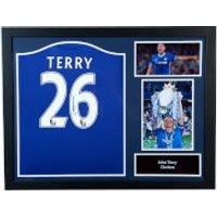 John Terry Signed and Framed Chelsea Shirt