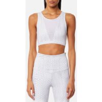 Varley Womens Terri Crop Top - White Snake - S - White