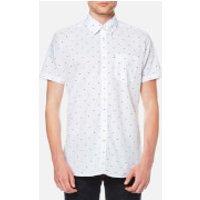 Barbour Mens Crab Short Sleeve Shirt - White - M