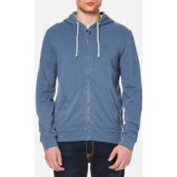 Barbour Mens Bantham Hoody - Washed Blue - XL