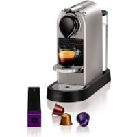 Nespresso by KRUPS XN740540 Citiz Coffee Machine - Silver