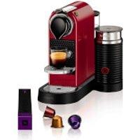 Nespresso by KRUPS XN760540 Citiz & Milk Coffee Machine - Red