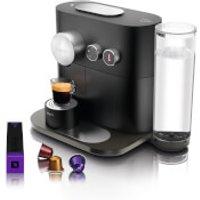 Nespresso by KRUPS XN601840 Expert & Milk Coffee Machine - Matte Black