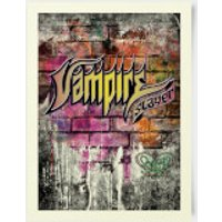 Buffy The Vampire Slayer Vampire Slayer Graffitti 30x40cm Print
