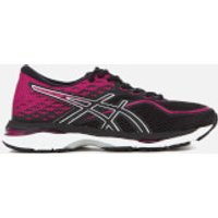Asics Womens Gel Cumulus 19 Trainers - Black/Silver/Pink - UK 5.5